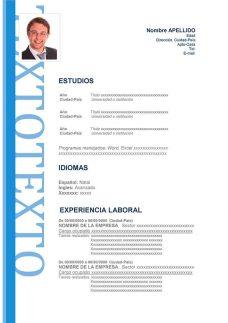 Curriculum Vitae Profesional Chile