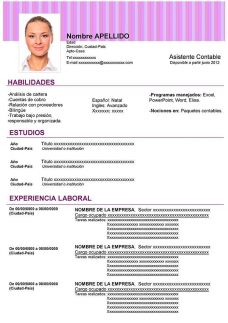 Formato De Resume En Word Sivan Mydearest Co