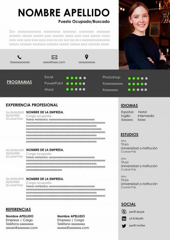 mi cv ideal para descargar gratis