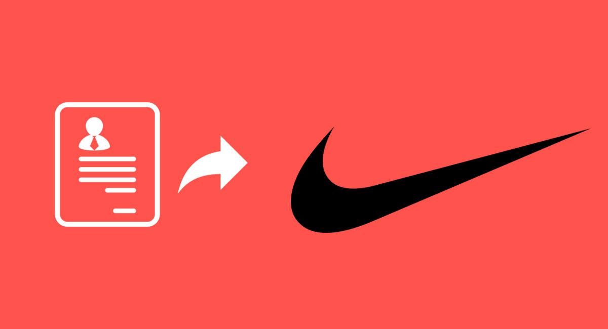 Recoger hojas Barriga Lleno  ▷ Enviar tu Currículum a Nike - Pasos | Encontrar Empleo