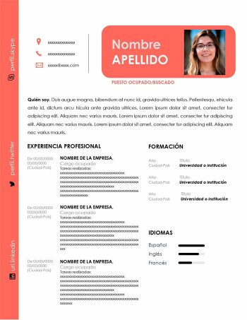 curriculum de secretaria