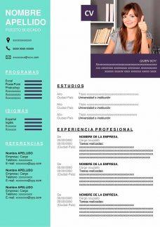 formatos de cv online gratis