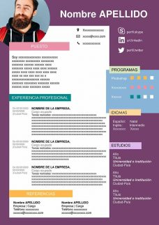 formatos cv online