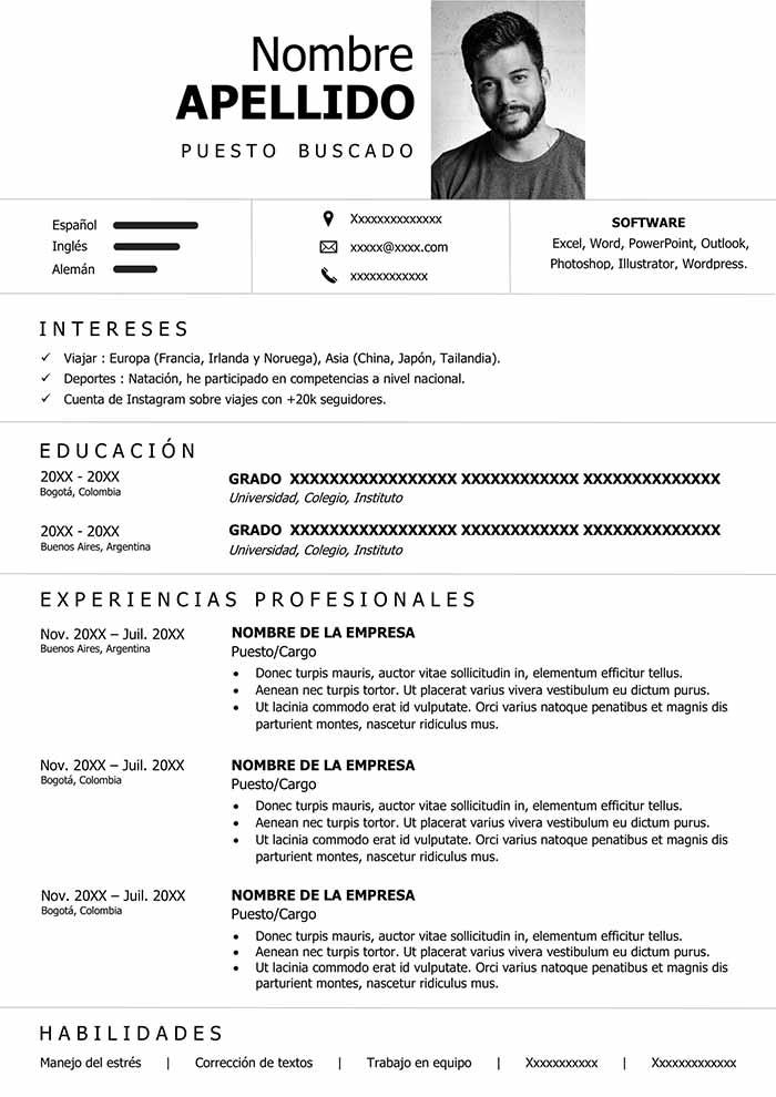 curriculum minimalista