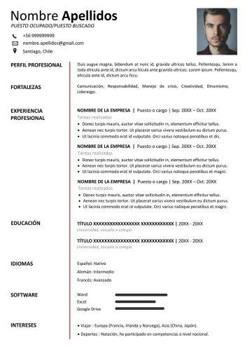 curriculum-vitae-chile-formato