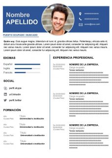 descargar cv original para word gratis