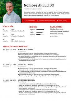 curriculum moderno para espana