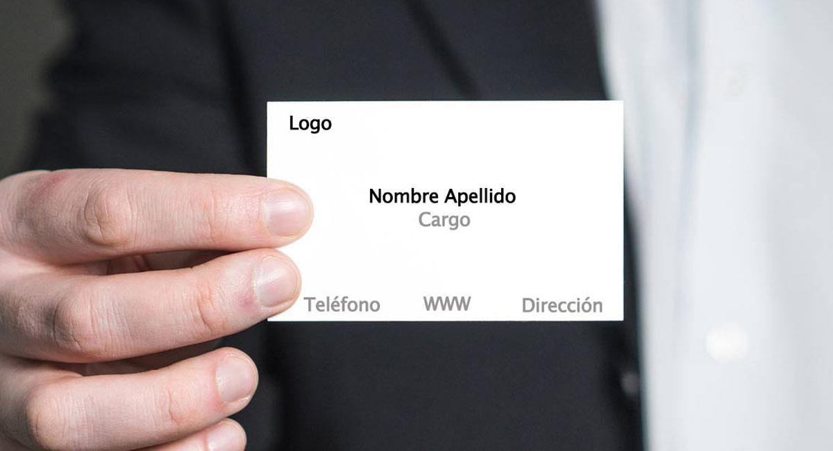 como hacer tarjeta de presentacion