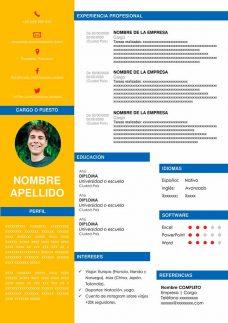 plantillas-curriculum-restaurante-comida-rapida