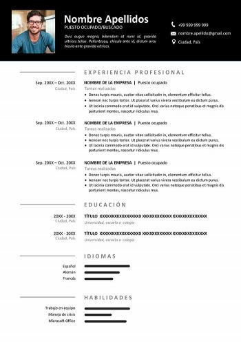 Ejemplos De Resume 2020 Summary For Resume Kcdrwebshop