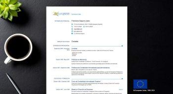 como hacer el curriculum europass en pdf