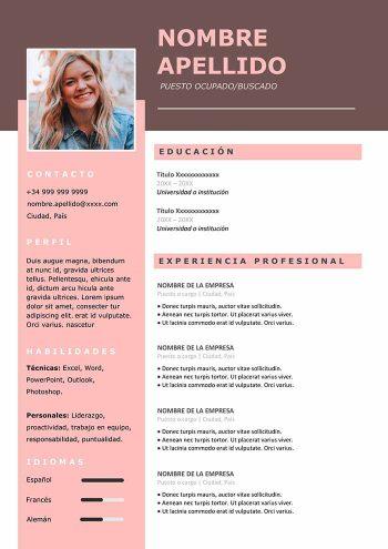 diseño de curriculum vitae